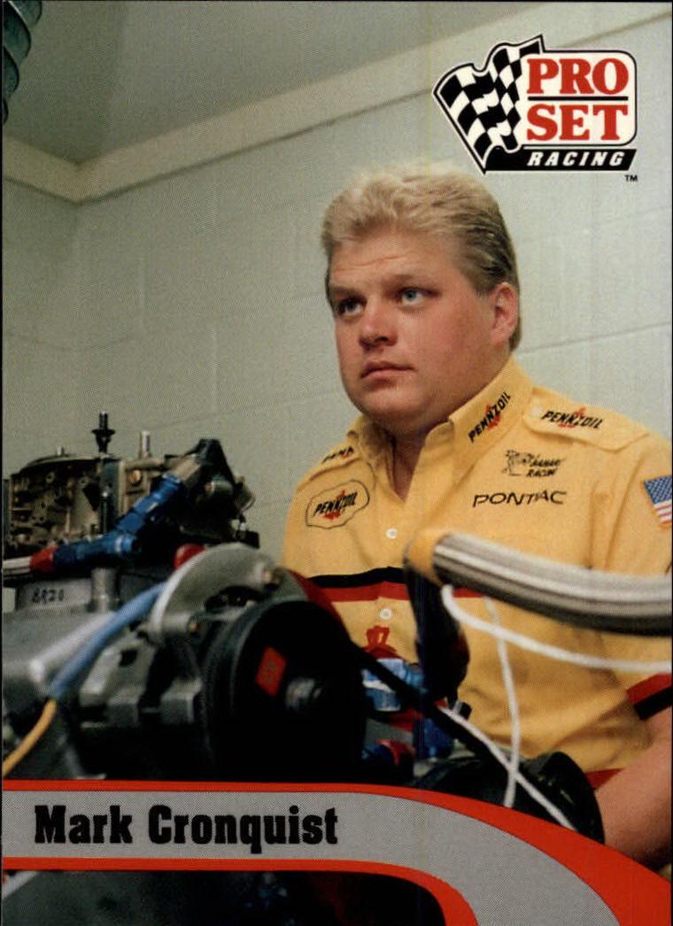 1992 Pro Set #196 Mark Cronquist RC