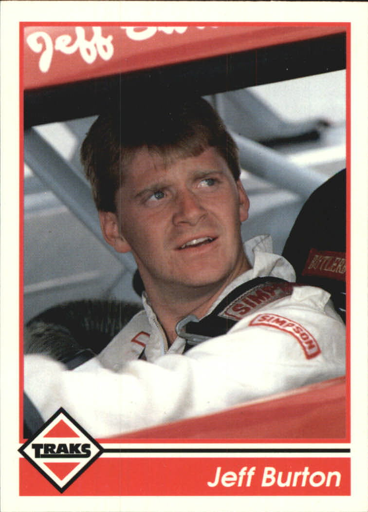 1992 Traks #99 Jeff Burton