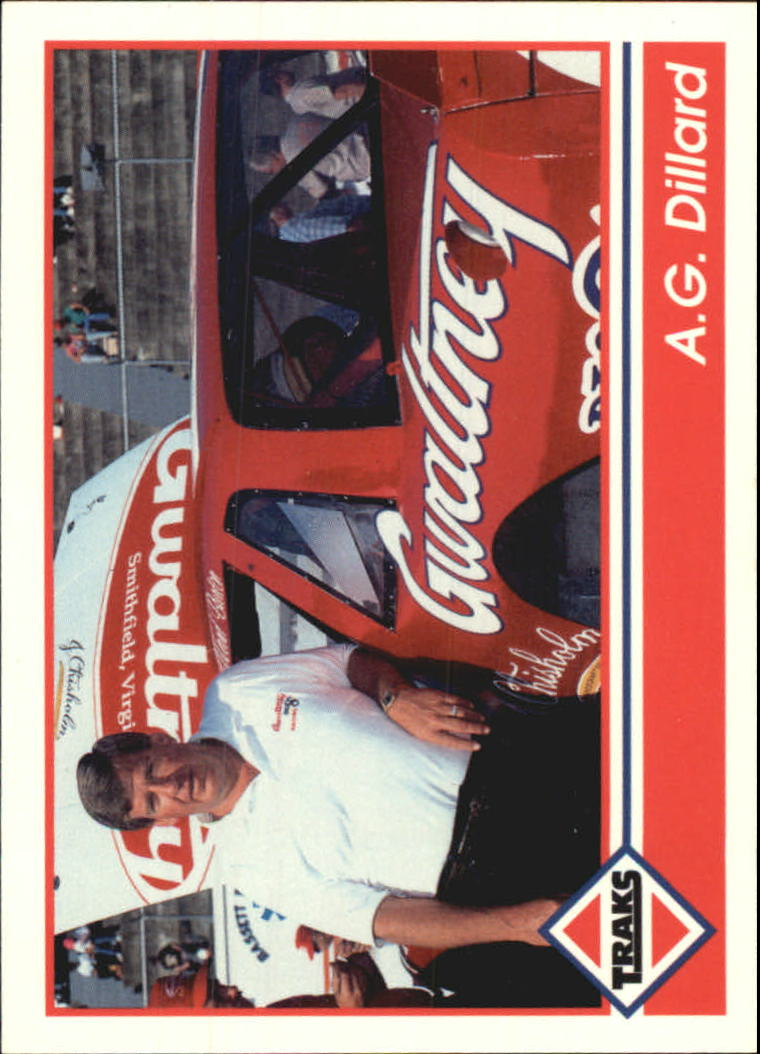 1992 Traks #183 A.G. Dillard