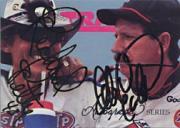 1992 Traks Autographs #A1 Dale Earnhardt/Richard Petty