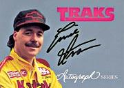 1992 Traks Autographs #A4 Ernie Irvan