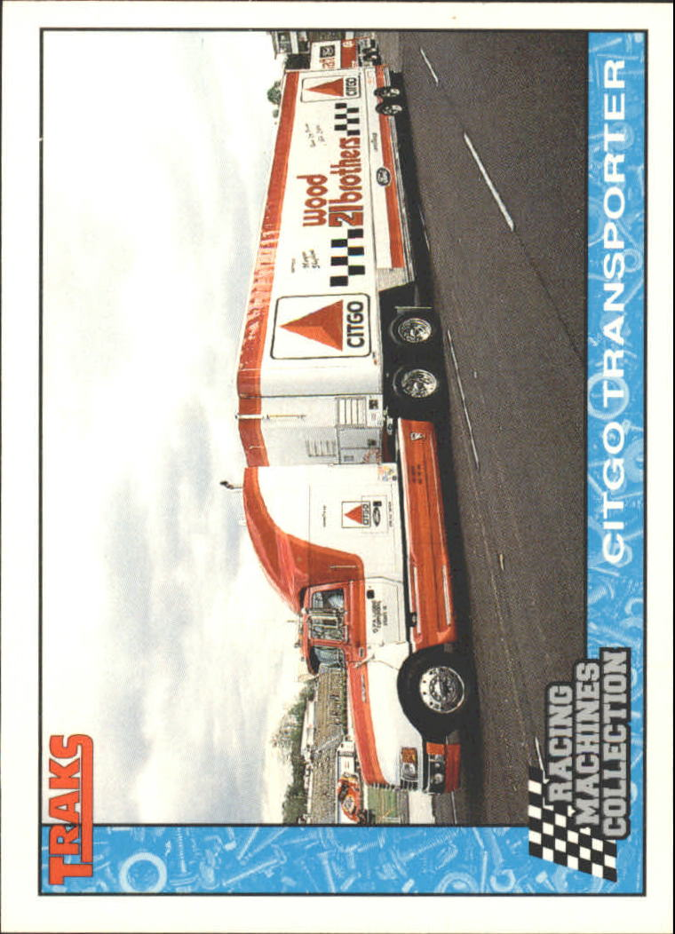 1992 Traks Racing Machines #49 Morgan Shepherd's Trans.