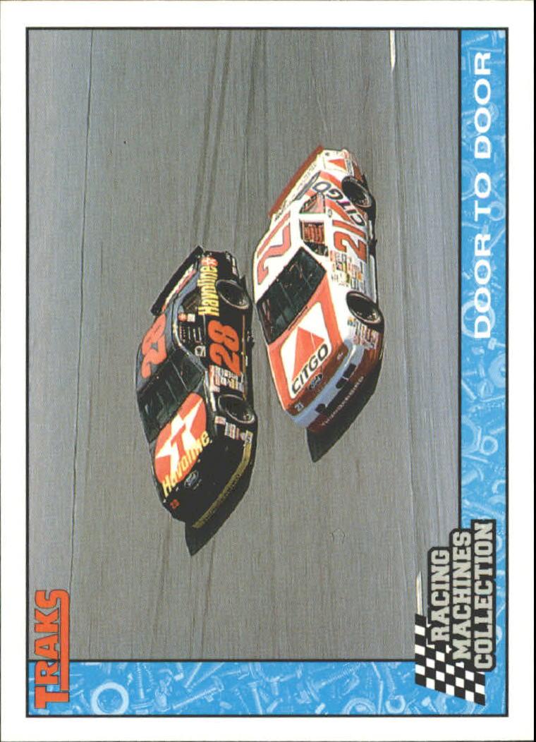 1992 Traks Racing Machines #93 Davey Allison's Car/Morgan Shepherd's Car