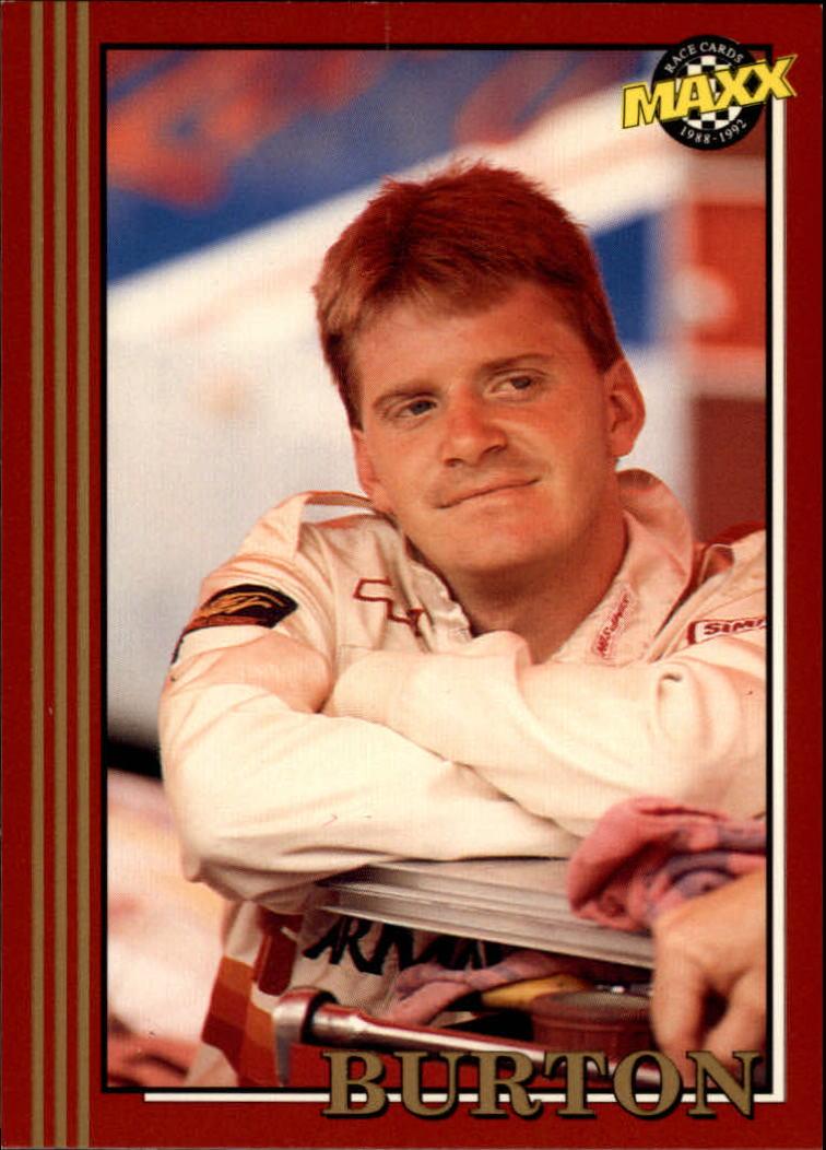 1992 Maxx Red #57 Jeff Burton