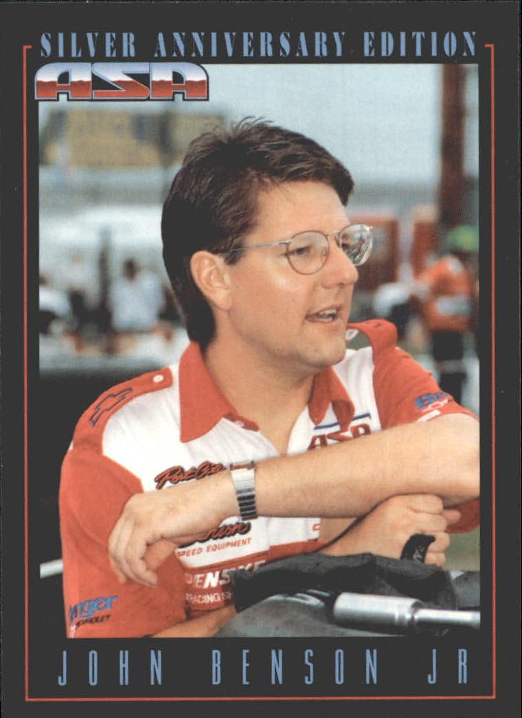 1992 Traks ASA #14 Johnny Benson Jr.
