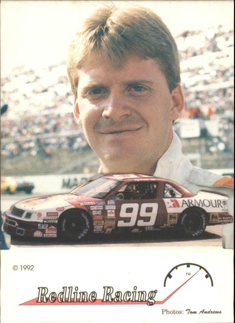 1992 Redline Standups #14 Jeff Burton