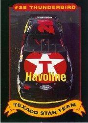 1992 Maxx Texaco Davey Allison #2 Davey Allison's Car