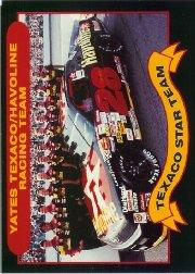 1992 Maxx Texaco Davey Allison #5 Davey Allison's Car w/Crew