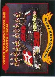 1992 Maxx Texaco Davey Allison #6 Davey Allison's Car w/Crew