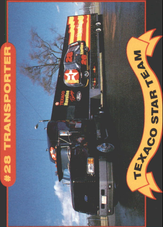 1992 Maxx Texaco Davey Allison #7 Davey Allison's Transporter