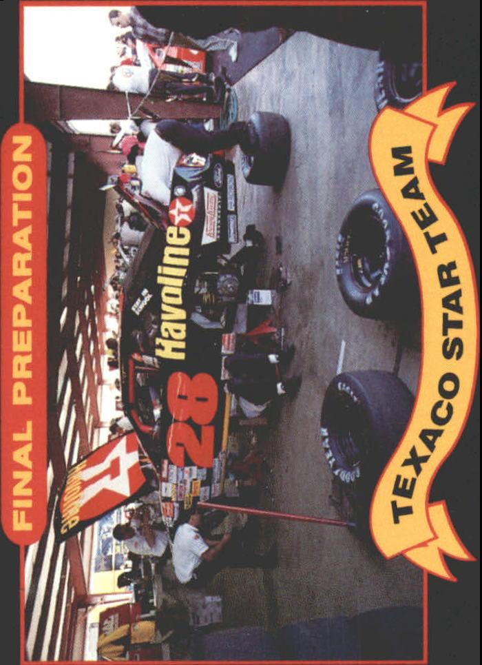 1992 Maxx Texaco Davey Allison #8 Davey Allison's Car
