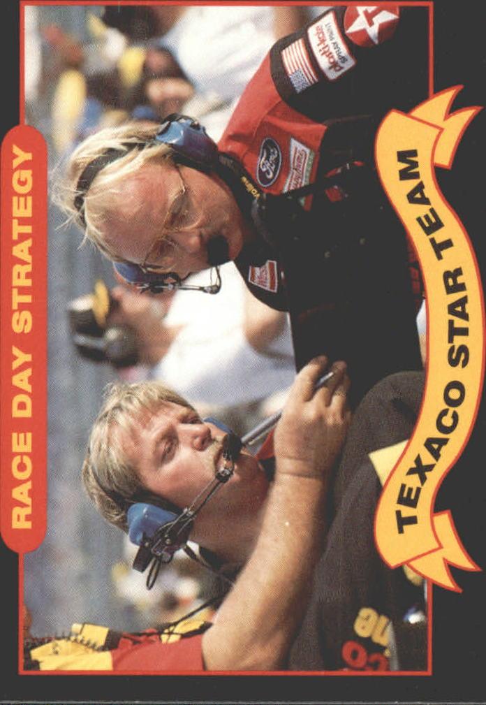 1992 Maxx Texaco Davey Allison #9 Robert Yates/Larry McReynolds