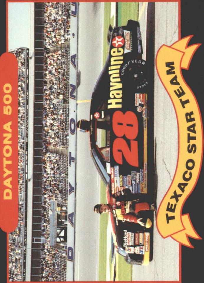 1992 Maxx Texaco Davey Allison #11 Davey Allison w/Car