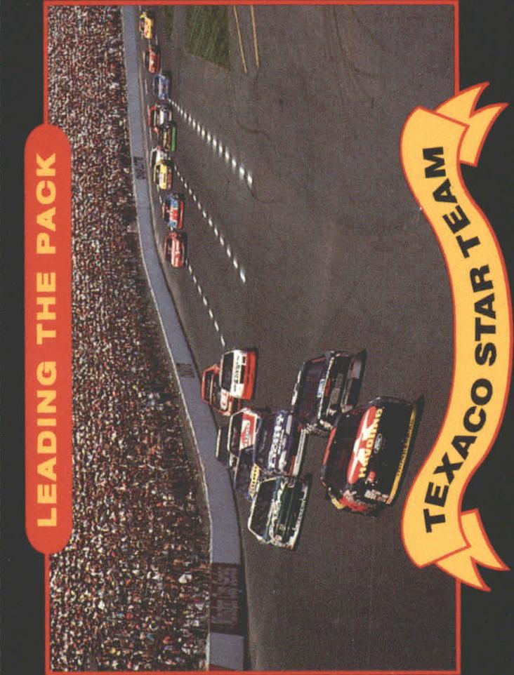 1992 Maxx Texaco Davey Allison #12 Davey Allison's Car/Dale Earnhardt's Car/Leading The Pack