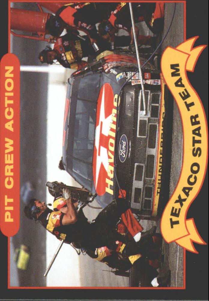 1992 Maxx Texaco Davey Allison #13 Davey Allison in Pits