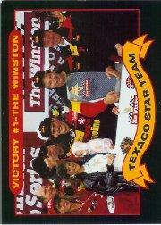1992 Maxx Texaco Davey Allison #14 Davey Allison/Deborah Allison/Robert Yates/Larry McReynolds