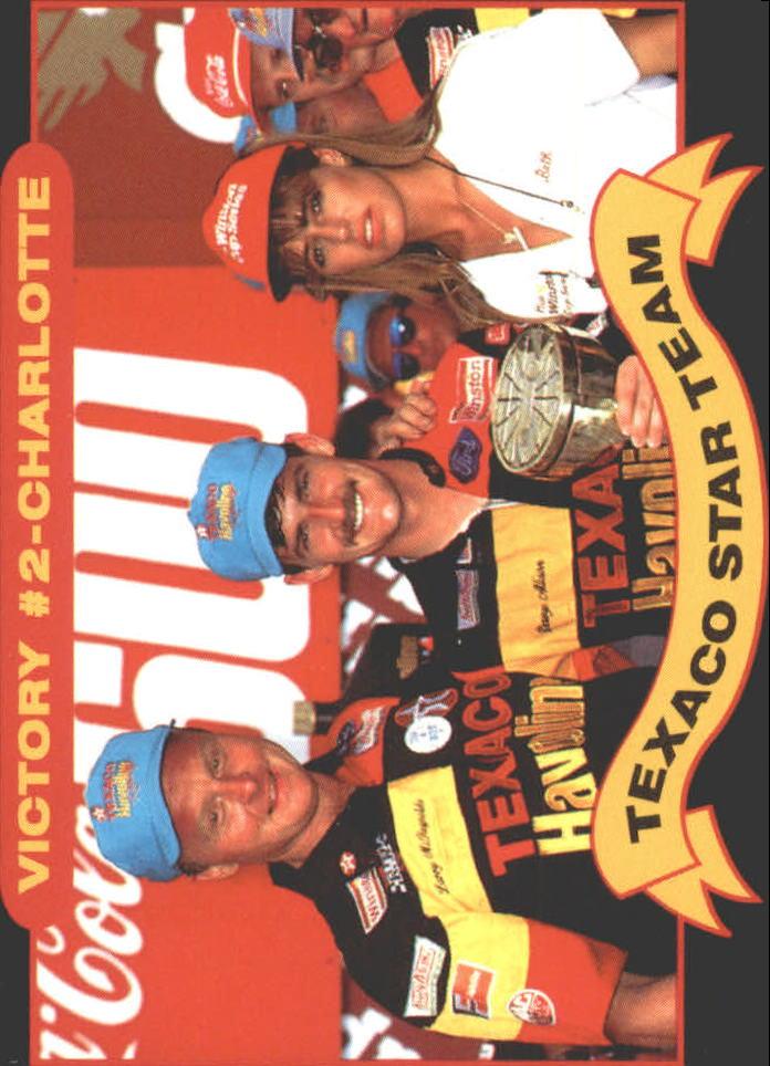 1992 Maxx Texaco Davey Allison #15 Davey Allison/Larry McReynolds