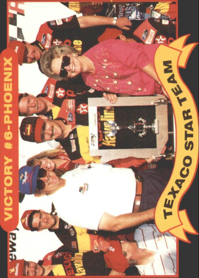 1992 Maxx Texaco Davey Allison #19 Davey Allison/Bobby Allison/Robert Yates/Larry McReynolds