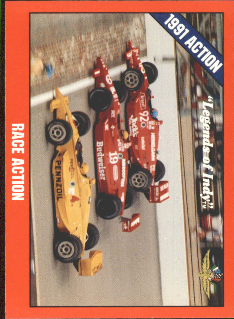 1992 Legends of Indy #40 John Andretti/Pruett/Johncock Cars