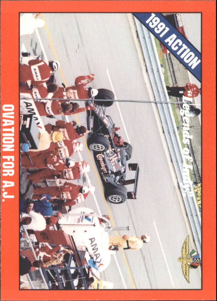 1992 Legends of Indy #46 A.J.Foyt's Car