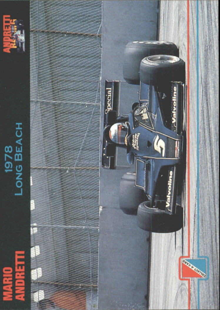 1992 Collect-A-Card Andretti Racing #70 Mario Andretti's Car