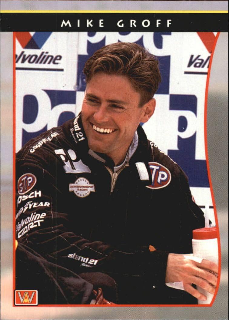 1992 All World Indy #2 Mike Groff