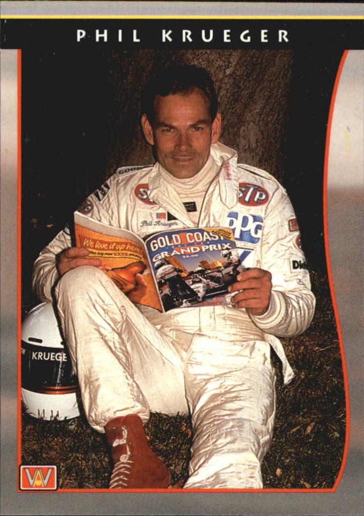 1992 All World Indy #10 Phil Krueger