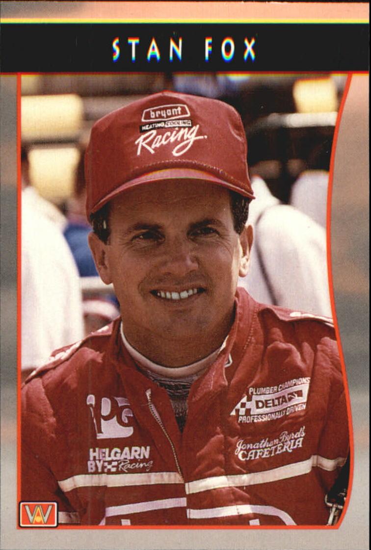 1992 All World Indy #14 Stan Fox
