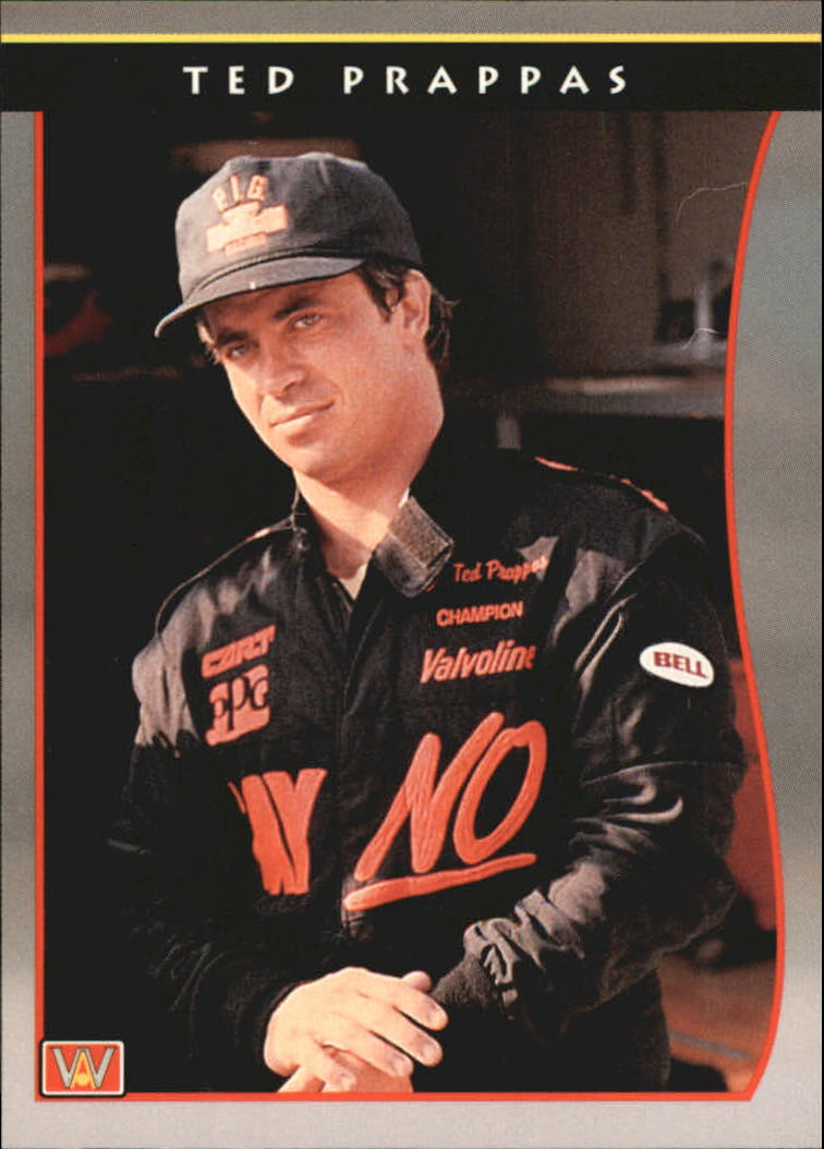 1992 All World Indy #38 Ted Prappas