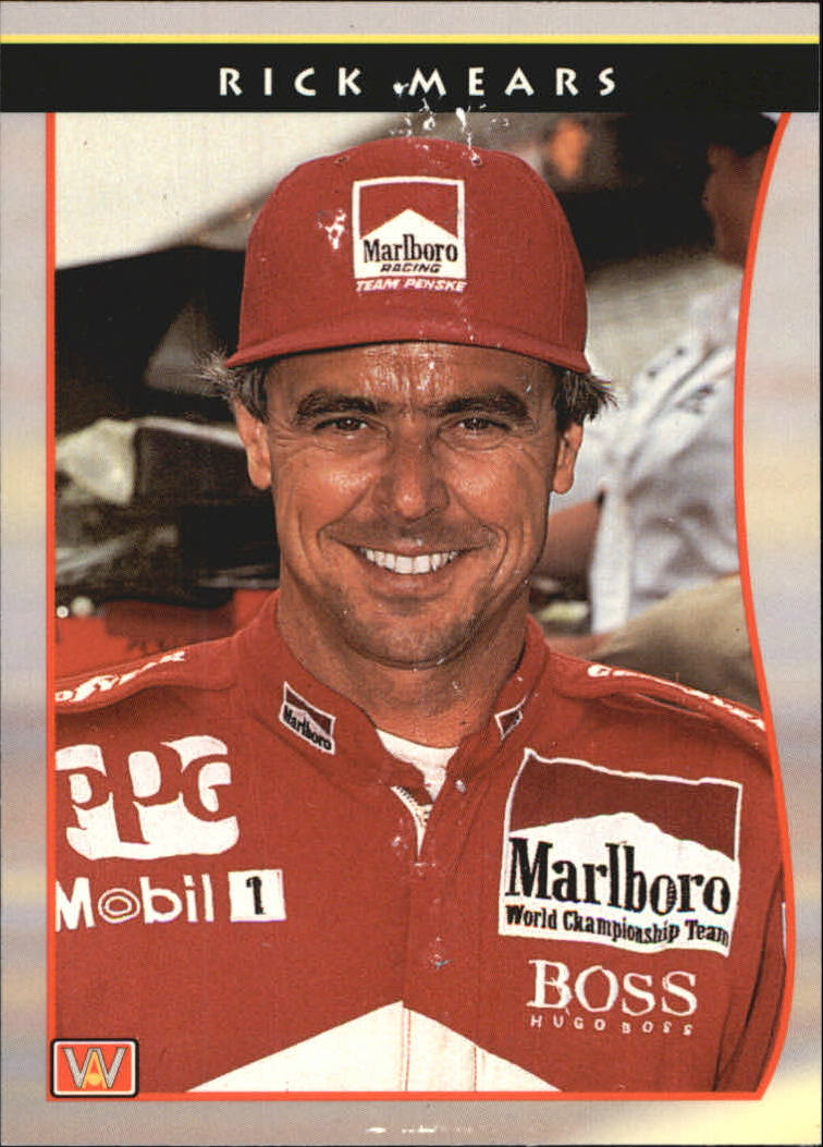 1992 All World Indy #41 Rick Mears