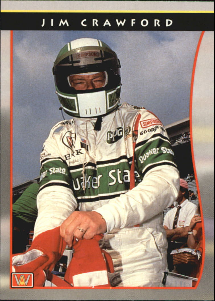 1992 All World Indy #43 Jim Crawford