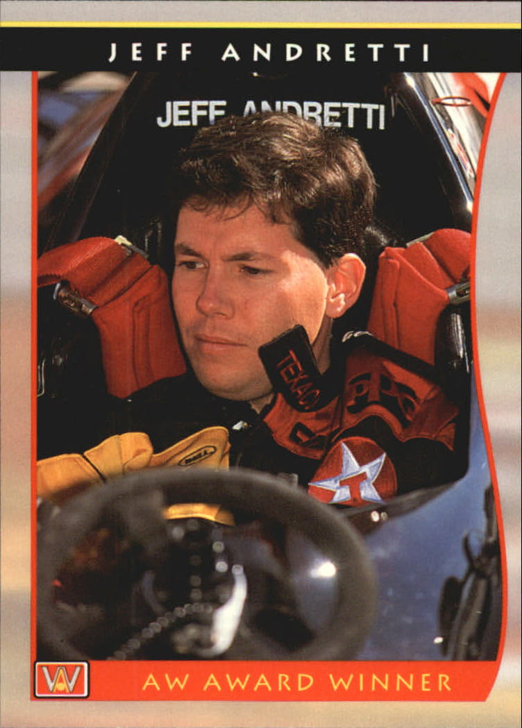 1992 All World Indy #47 Jeff Andretti