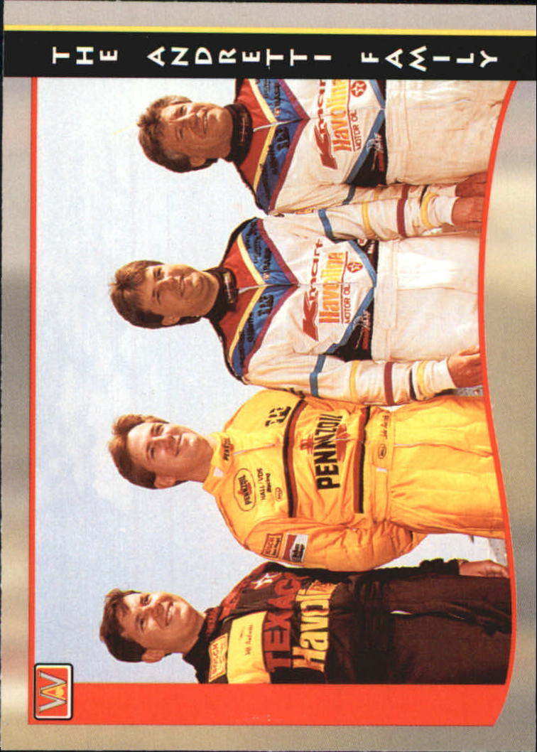 1992 All World Indy #49 Andretti Family