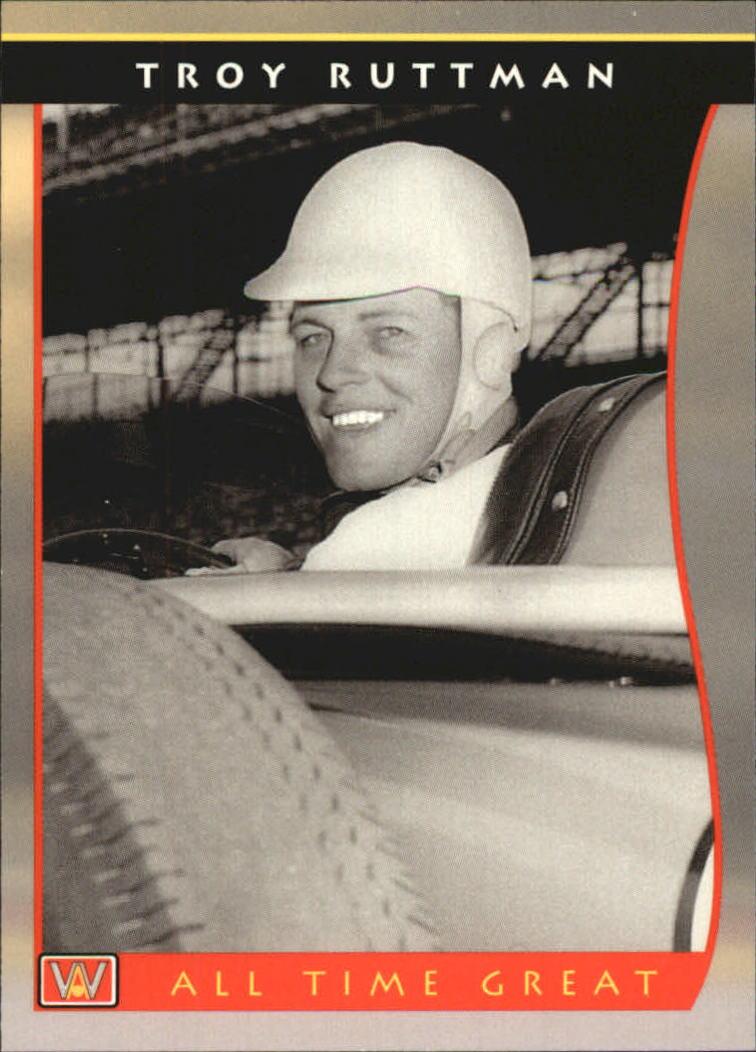 1992 All World Indy #59 Troy Ruttman ATG