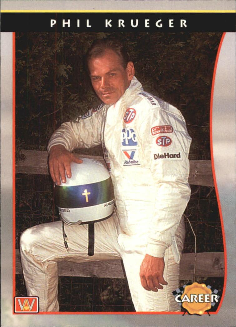 1992 All World Indy #89 Phil Krueger