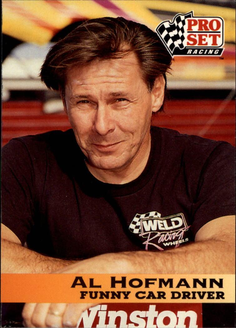1992 Pro Set NHRA #60 Al Hofmann
