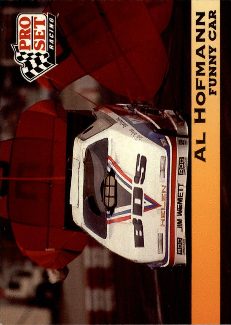 1992 Pro Set NHRA #121 Al Hofmann's Car