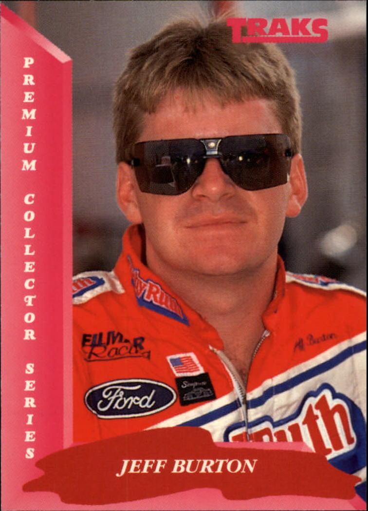 1993 Traks #37 Jeff Burton