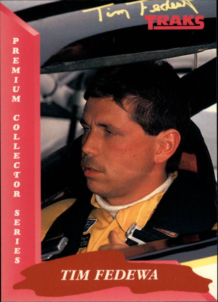1993 Traks #54 Tim Fedewa RC