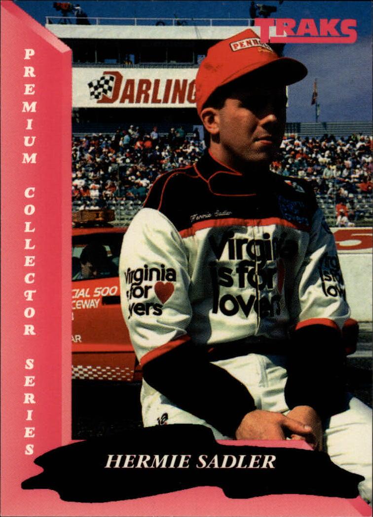 1993 Traks #80 Hermie Sadler RC