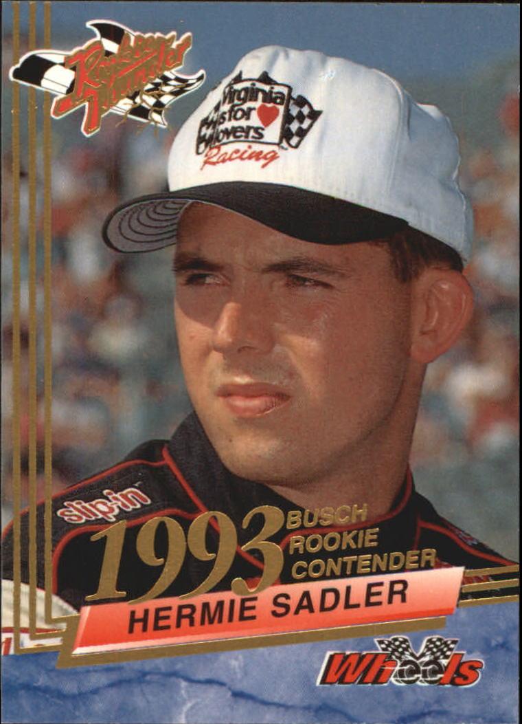 1993 Wheels Rookie Thunder #39 Hermie Sadler RC