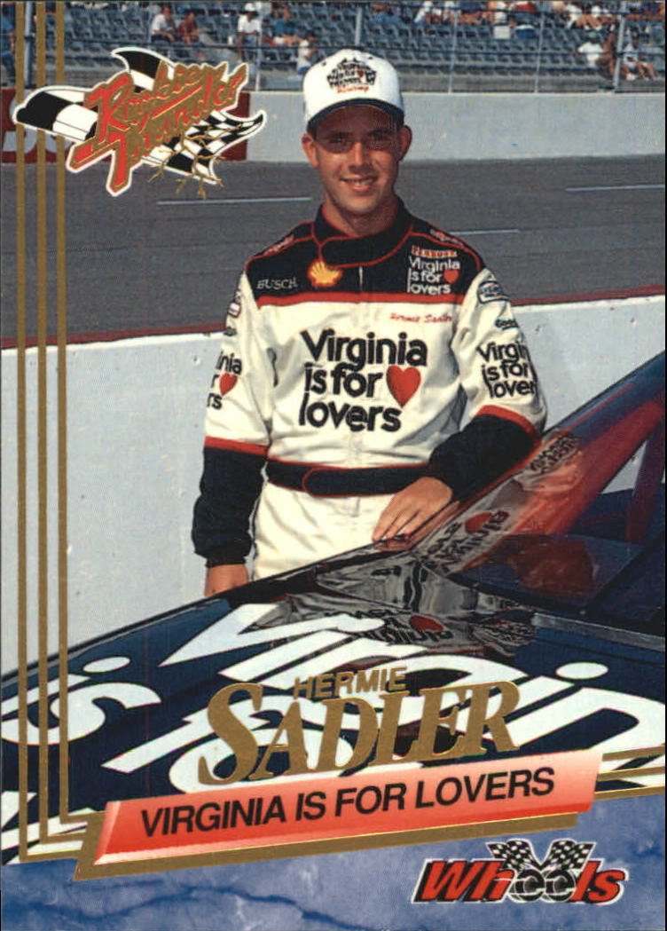 1993 Wheels Rookie Thunder #69 Hermie Sadler RC