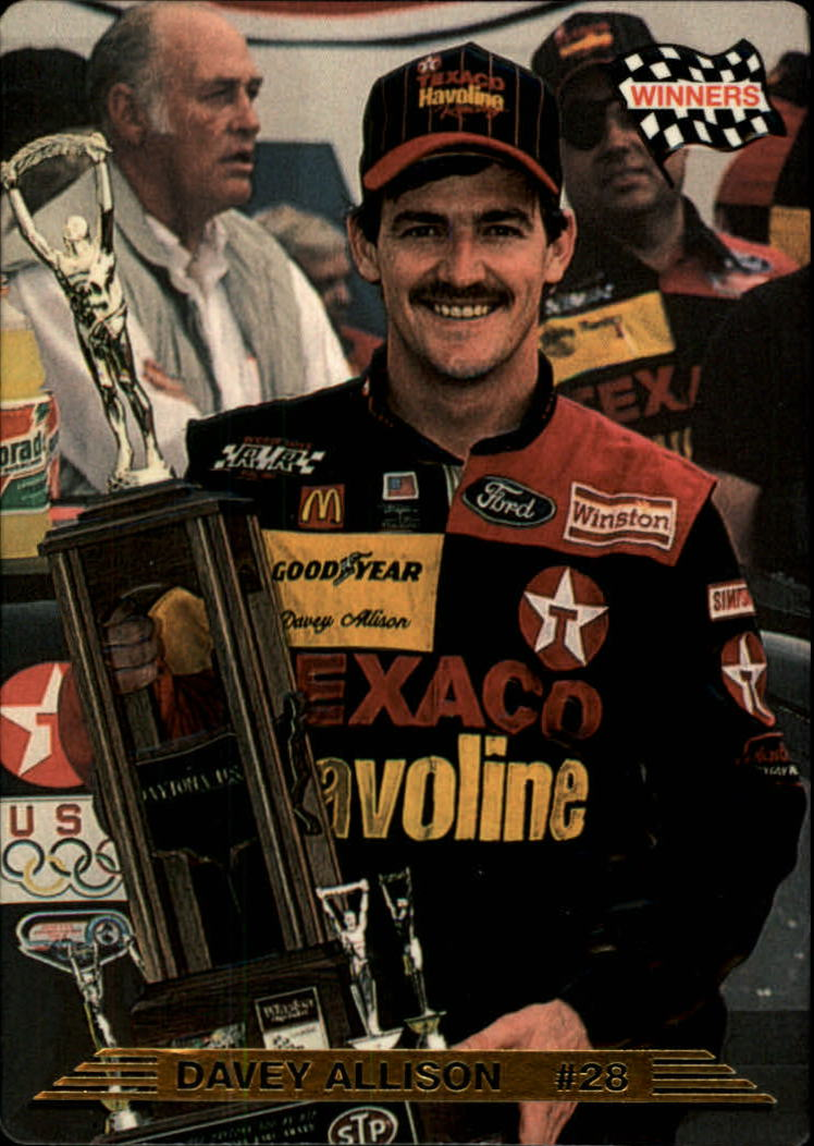 1993 Action Packed #5 Davey Allison WIN