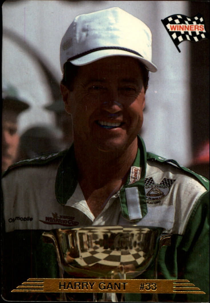 1993 Action Packed #7 Harry Gant WIN
