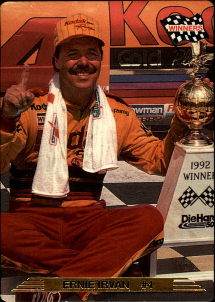 1993 Action Packed #8 Ernie Irvan WIN