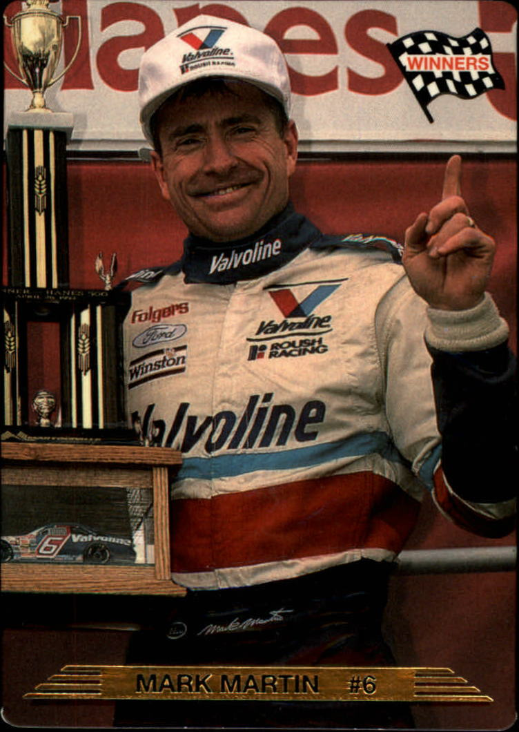 1993 Action Packed #9 Mark Martin WIN
