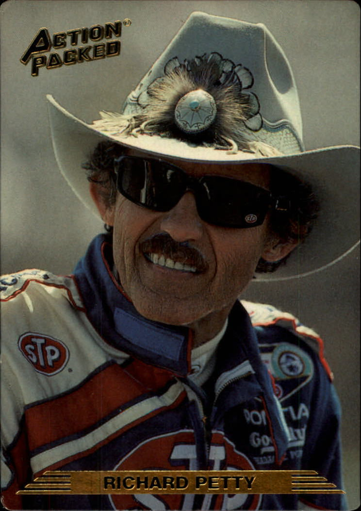1993 Action Packed #10 Richard Petty Braille