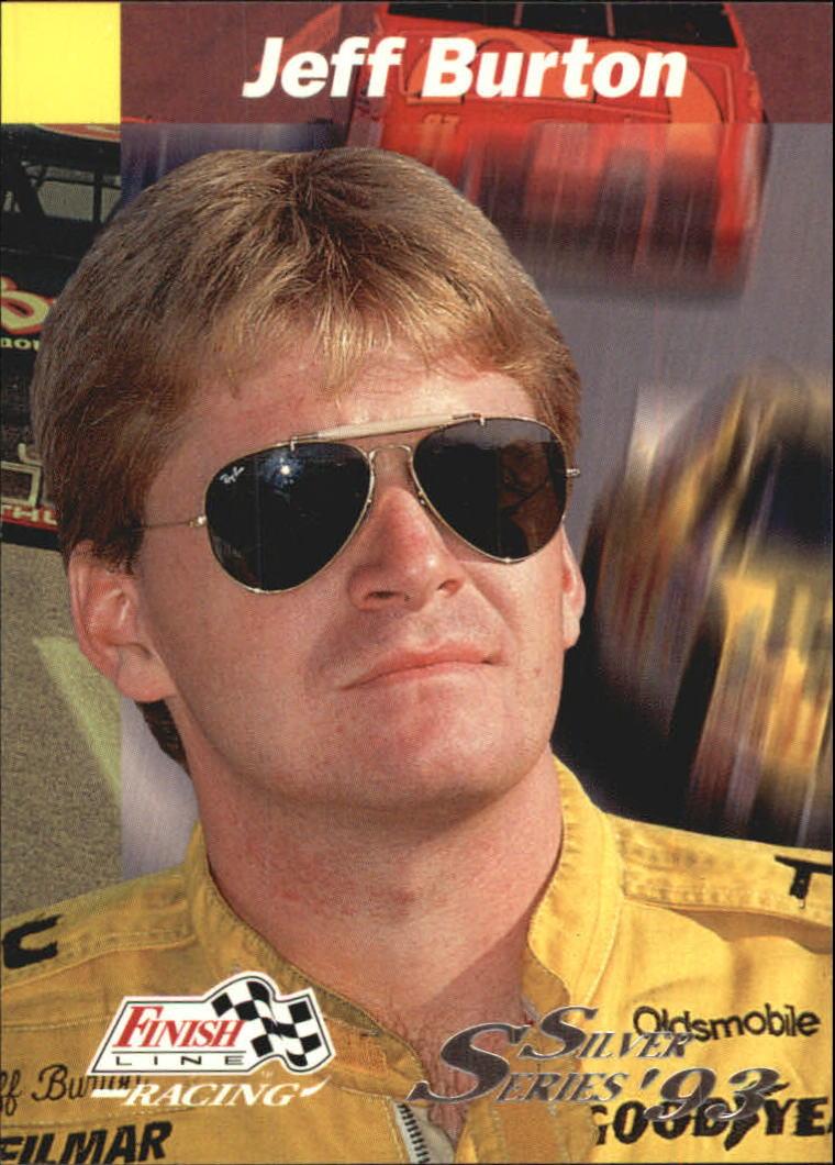 1993 Finish Line Silver #29 Jeff Burton