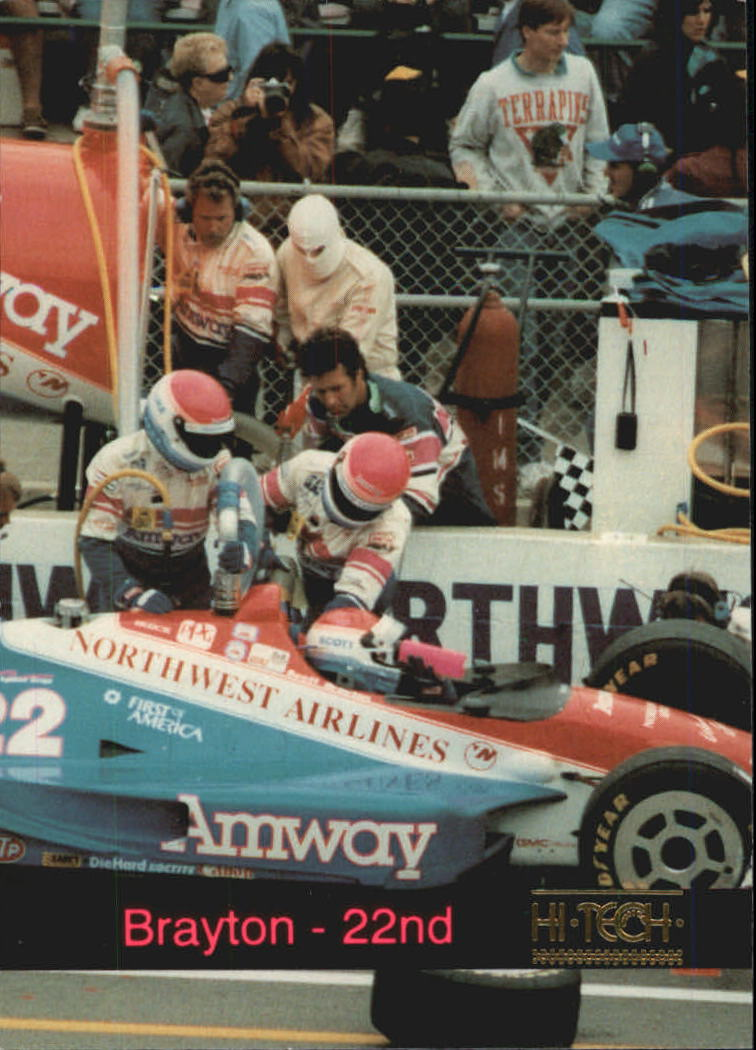 1993 Hi-Tech Indy #7 Scott Brayton