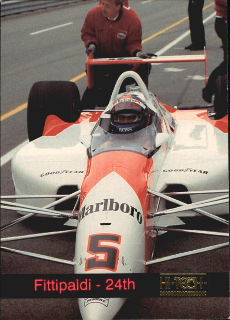 1993 Hi-Tech Indy #11 Emerson Fittipaldi